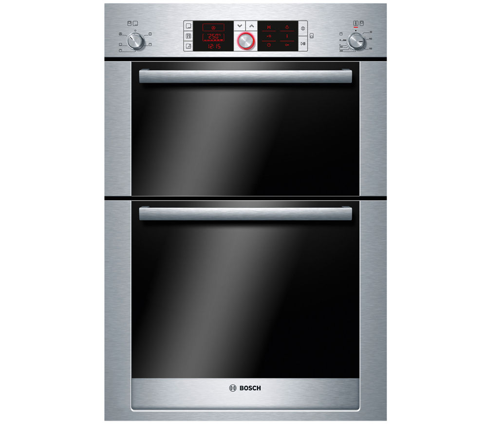 BOSCH  Logixx HBM56B551B Electric Double Oven  Stainless Steel Stainless Steel