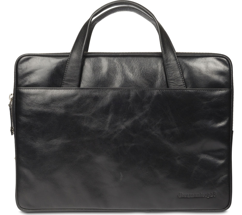 "Image of Dbramante 1928 Silkeborg 13"" Leather Laptop Case - Black"