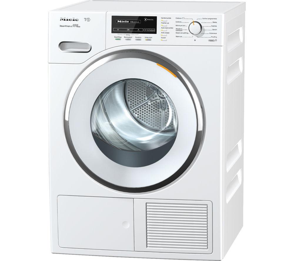 MIELE TMG840 WP Heat Pump Tumble Dryer - White
