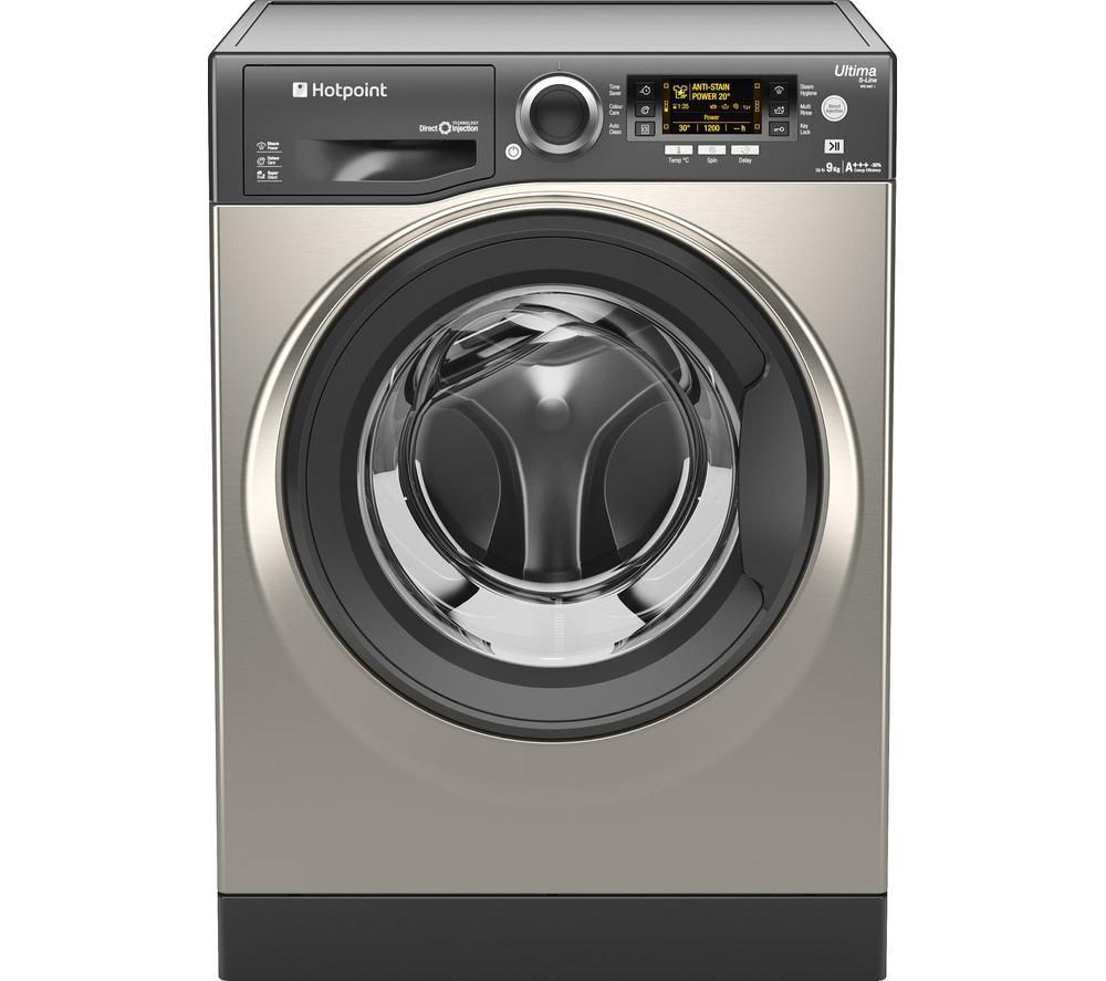 HOTPOINT Ultima S-line RPD9467JGG Washing Machine - Graphite