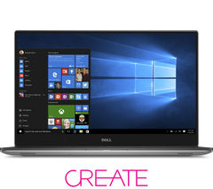 DELL XPS 15 with InfinityEdge Display - Silver