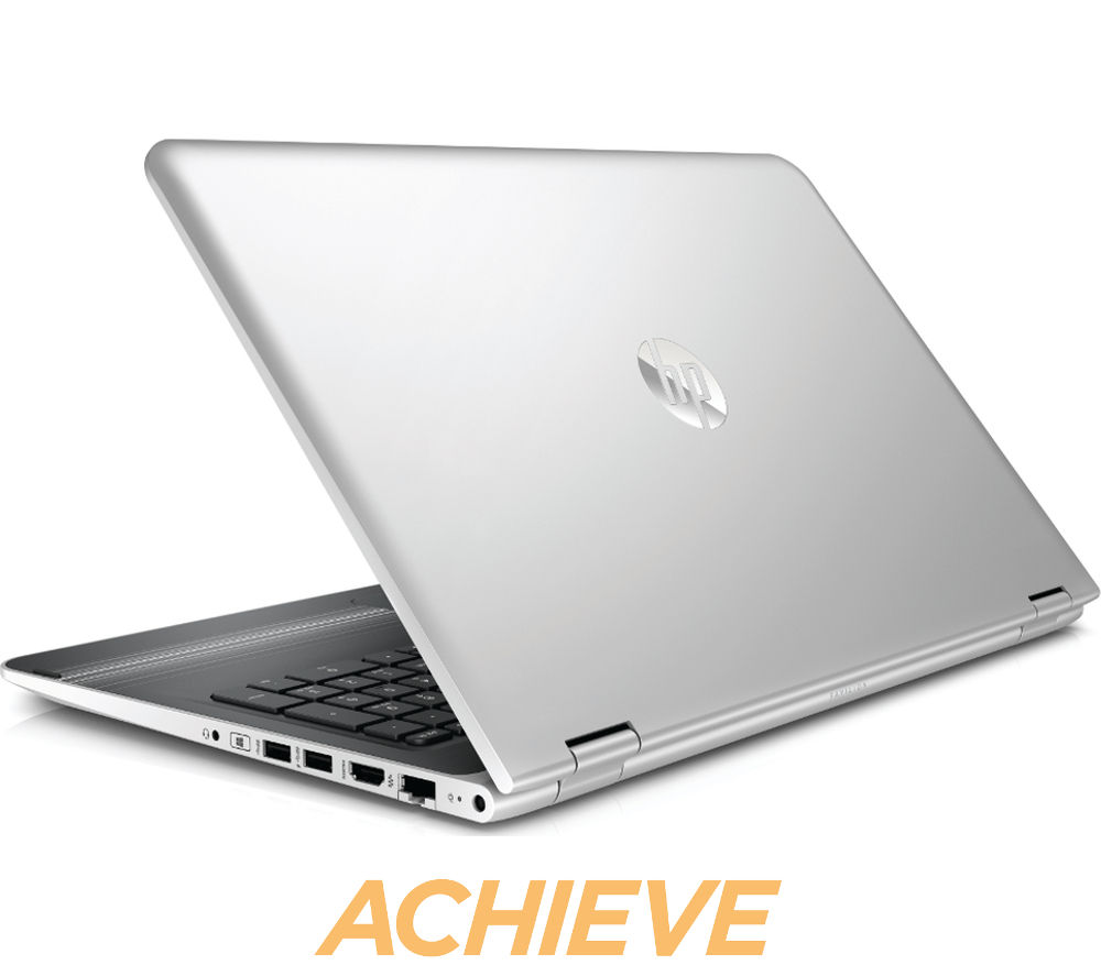 HP Pavilion x360 15bk056sa 15.6 2 in 1  Silver