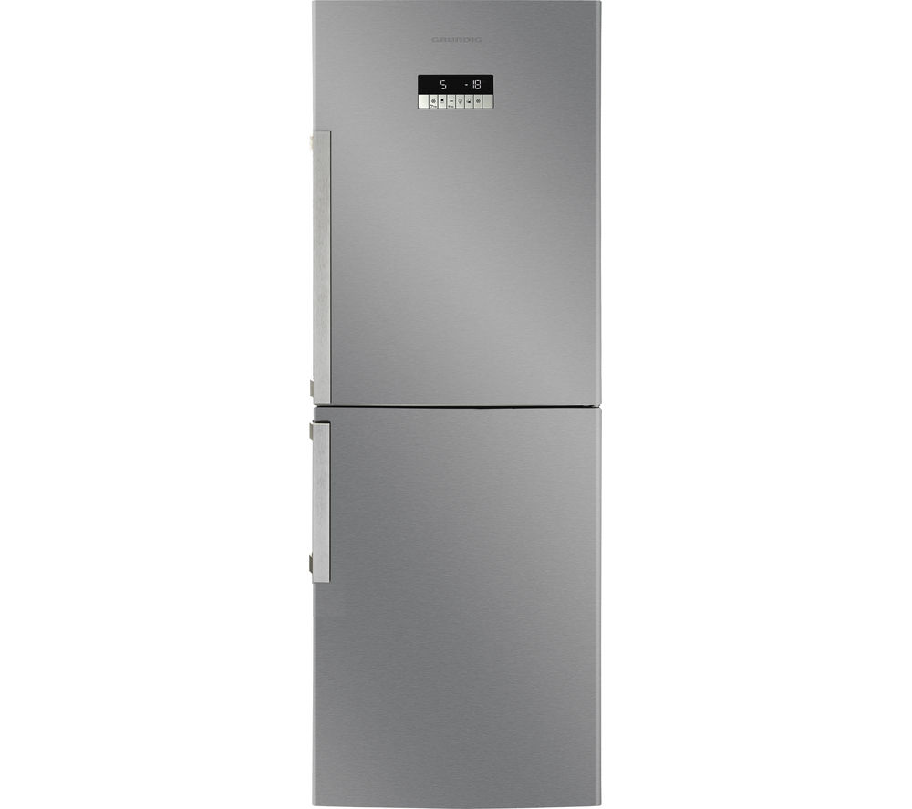 GRUNDIG  GKN16910X Fridge Freezer  Stainless Steel Stainless Steel