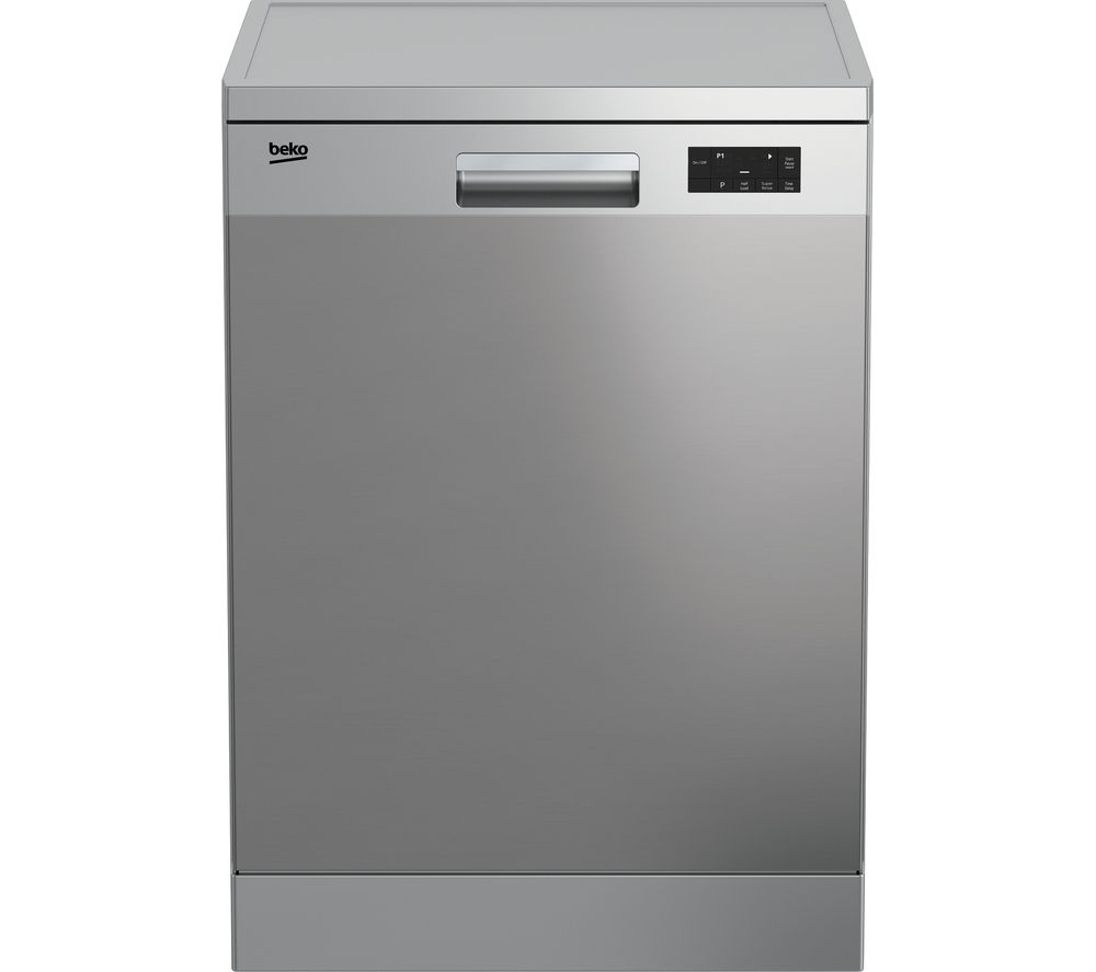 Image of BEKO DFN15X10X Full-size Dishwasher - Stainless Steel, Stainless Steel