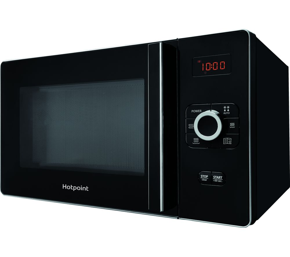 Image of HOTPOINT Gusto MWH 25223 Microwave with Grill - Black, Black