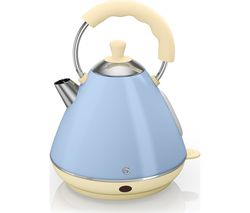 SWAN Pyramid SK261030BLN Traditional Kettle - Blue