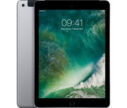 "APPLE 9.7"" iPad - 128 GB, Space Grey"