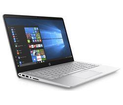"""HP Pavilion 14-bf054sa 14"""" Laptop - Silver"""