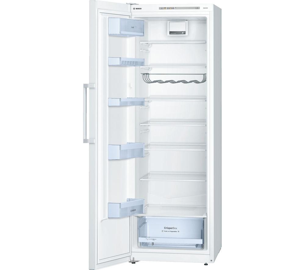 Buy bosch exxcel ksv33vw30g tall fridge white free - Frigorifero monoporta senza congelatore ...