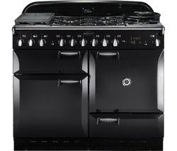 RANGEMASTER Elan 110 Dual Fuel Range Cooker - Black
