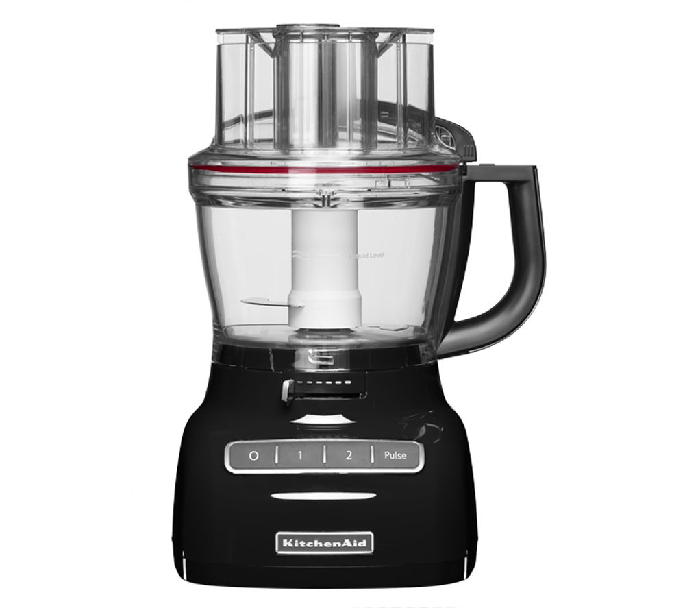 buy kitchenaid 5kfp0925bob 2 1 food processor onyx black free delivery currys. Black Bedroom Furniture Sets. Home Design Ideas