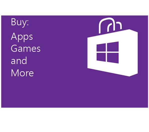 Buy MICROSOFT Windows Store Gift Card - £15