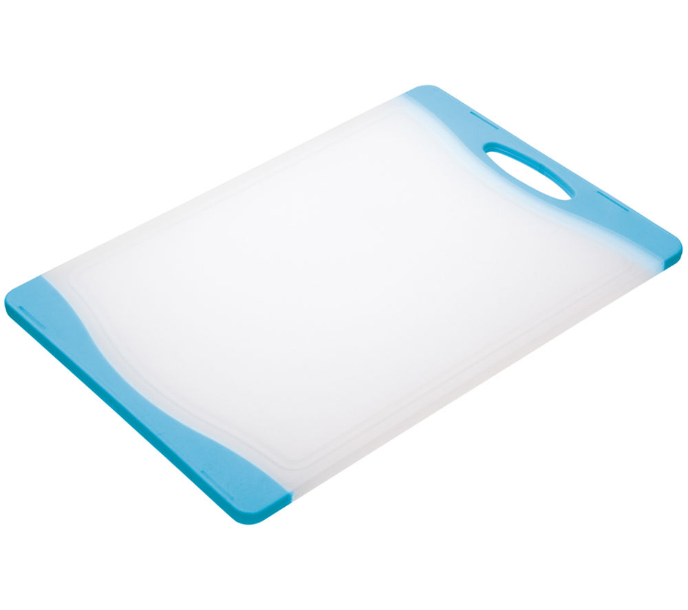 COLOURWORKS 35 cm x 24 cm Cutting Board - Blue