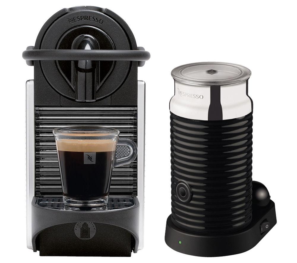 magimix 11328 nespresso pixie coffee machine aeroccino. Black Bedroom Furniture Sets. Home Design Ideas