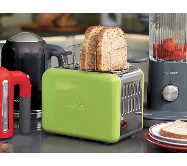 buy kenwood kmix ttm020gr 2 slice toaster green free delivery currys. Black Bedroom Furniture Sets. Home Design Ideas
