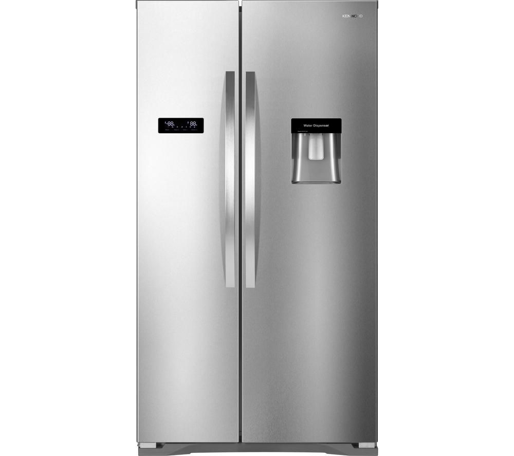 KENWOOD KSBSDX15 American-Style Fridge Freezer - Stainless Steel