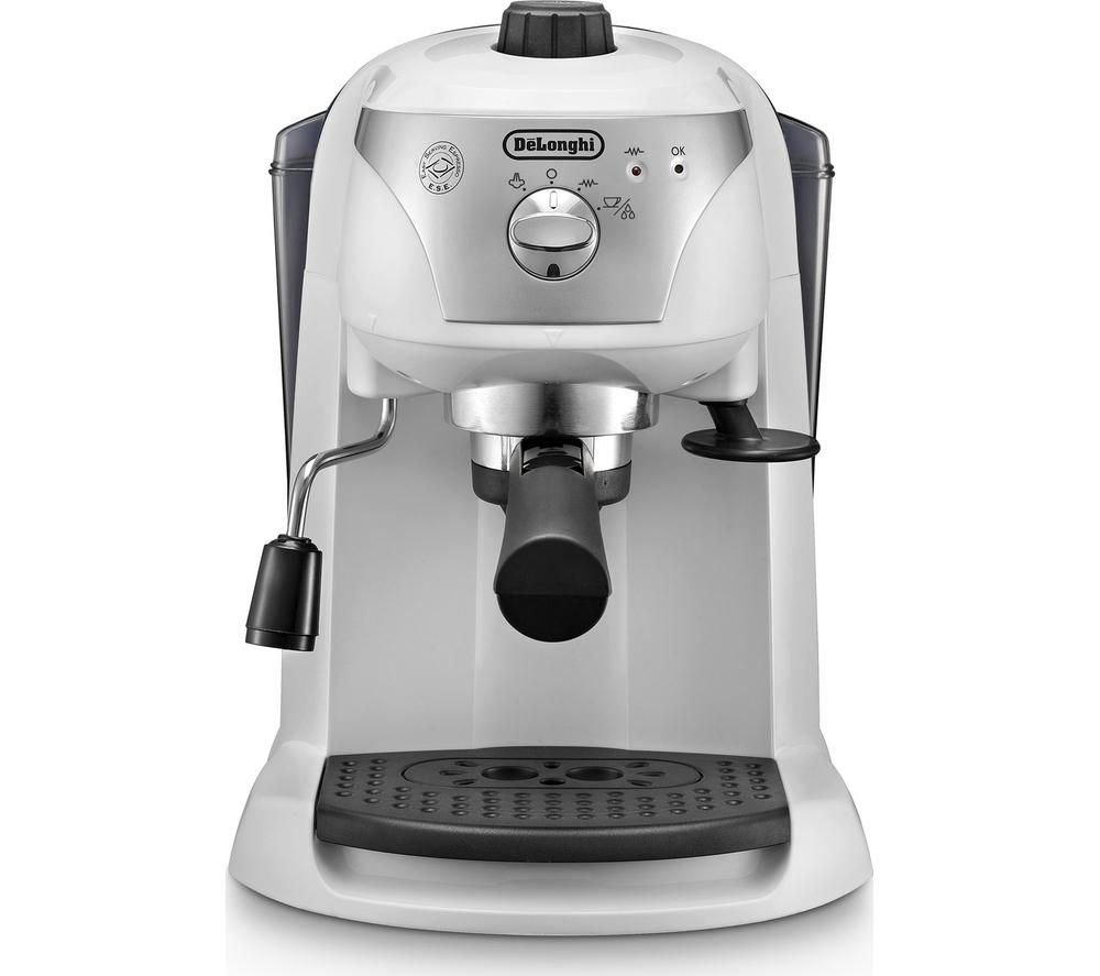 DELONGHI Motivo ECC221.W Coffee Machine - White