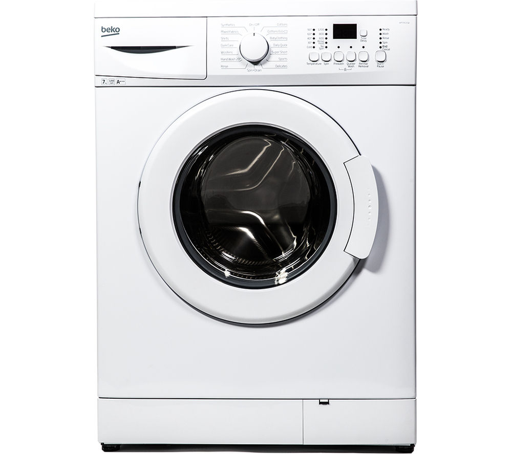 BEKO  WM74125W Washing Machine - White +  DCX83100W Condenser Tumble Dryer - White