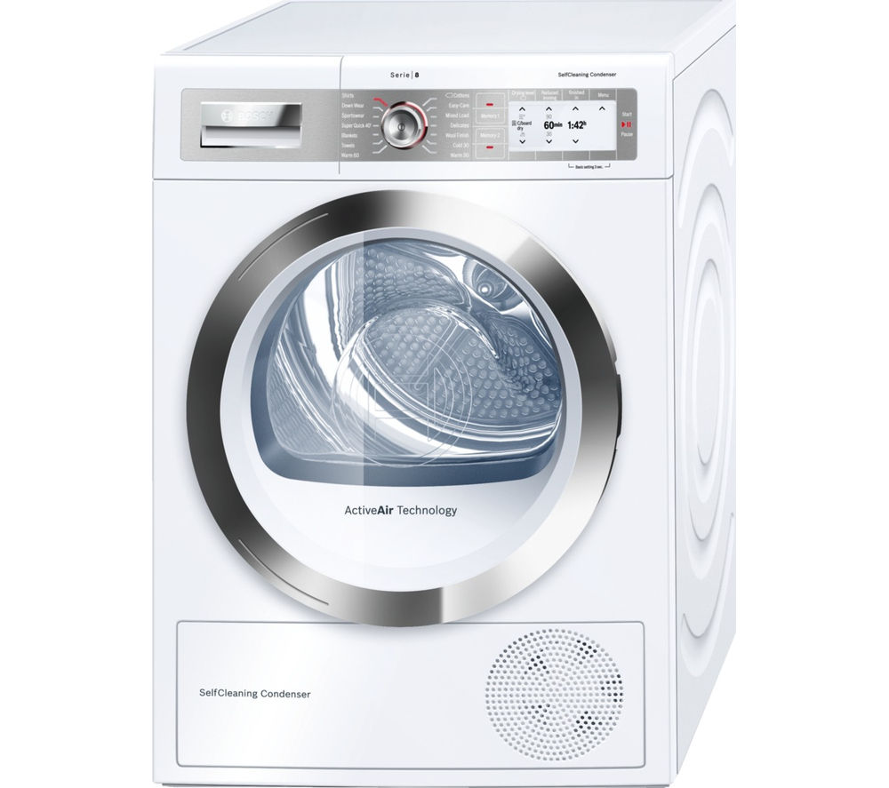 Heat Pump Dryer ~ Buy bosch wty gb heat pump tumble dryer white free