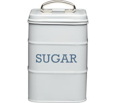 KITCHEN CRAFT Living Nostalgia Vintage Sugar Tin - Grey