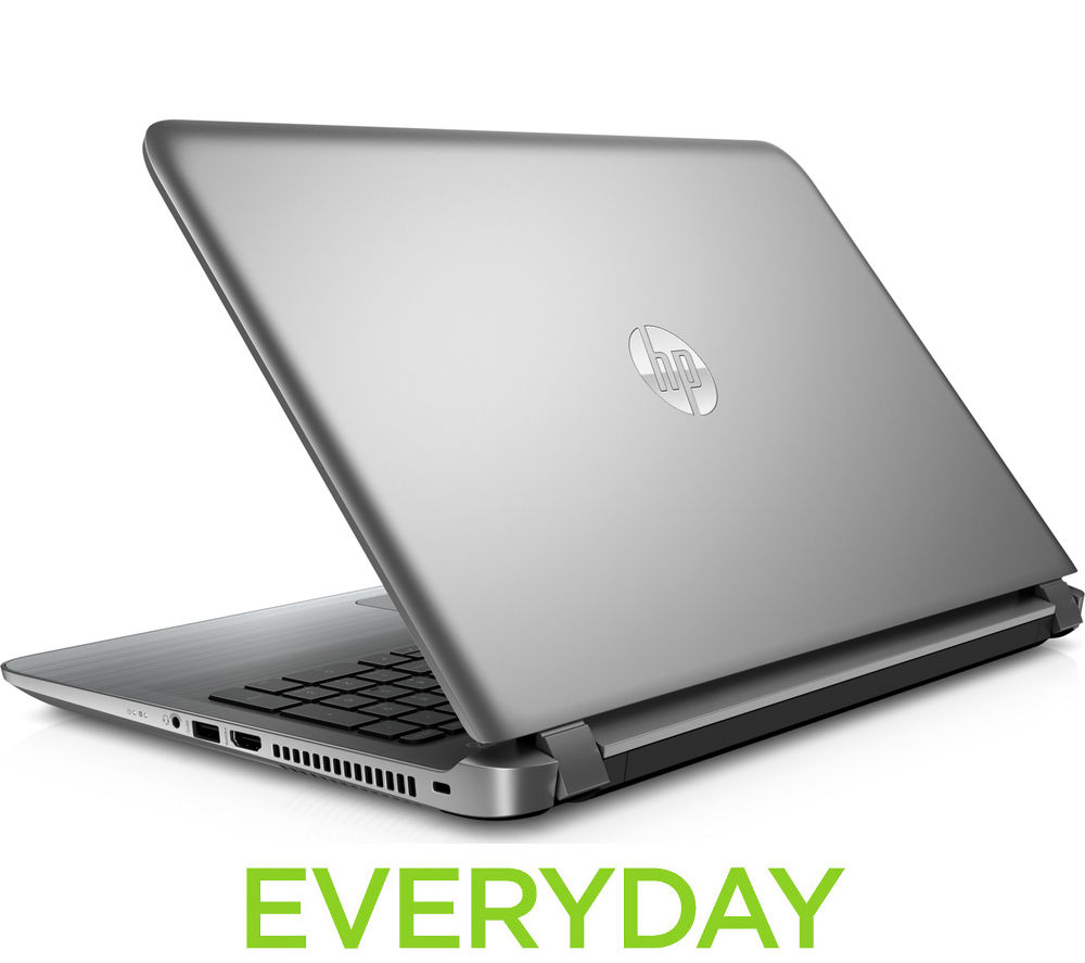 "Image of HP Pavilion 15-ab150sa 15.6"" Laptop - Silver, Silver"
