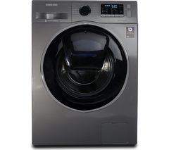 SAMSUNG AddWash™ WW90K5410UX/EU Washing Machine - Graphite