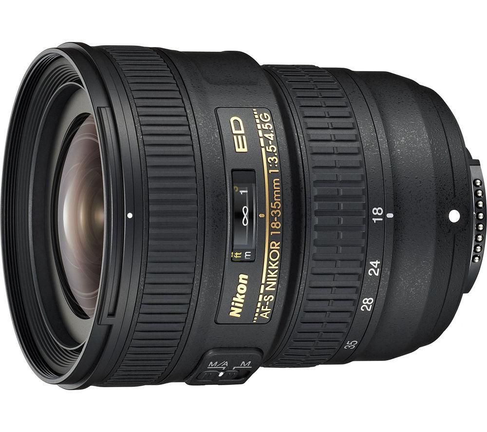 NIKON AF-S NIKKOR 18-35 mm f/3.5-4.5G Wide-angle Zoom Lens
