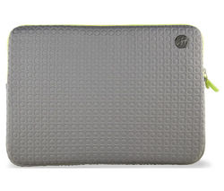 "GOJI GSMGY1116 11"" MacBook Sleeve - Grey & Green"