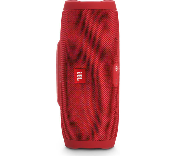Image of JBL Charge 3 Portable Wireless Speaker - Red