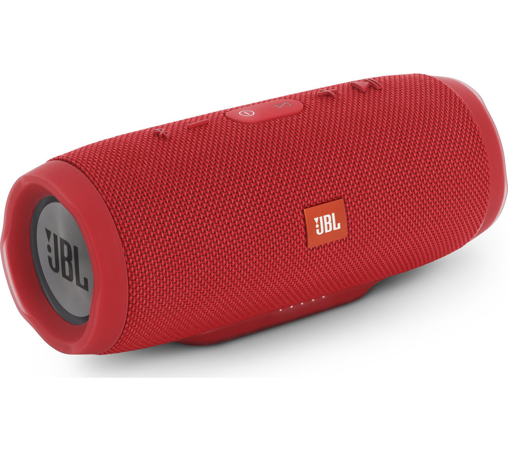 Click to view more of JBL  Charge 3 Portable Wireless Speaker - Red, Red