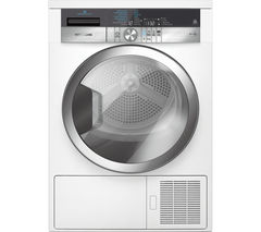 GRUNDIG GTN38267GCW Heat Pump Tumble Dryer - White