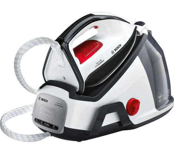Image of BOSCH Easy Comfort TDS6040GB Steam Generator Iron - White & Black