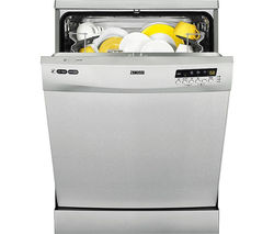 ZANUSSI ZDF26011XA Full-size Dishwasher - Stainless Steel