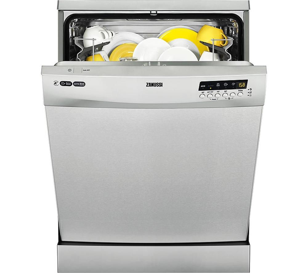 ZANUSSI  ZDF26011XA Fullsize Dishwasher  Stainless Steel Stainless Steel