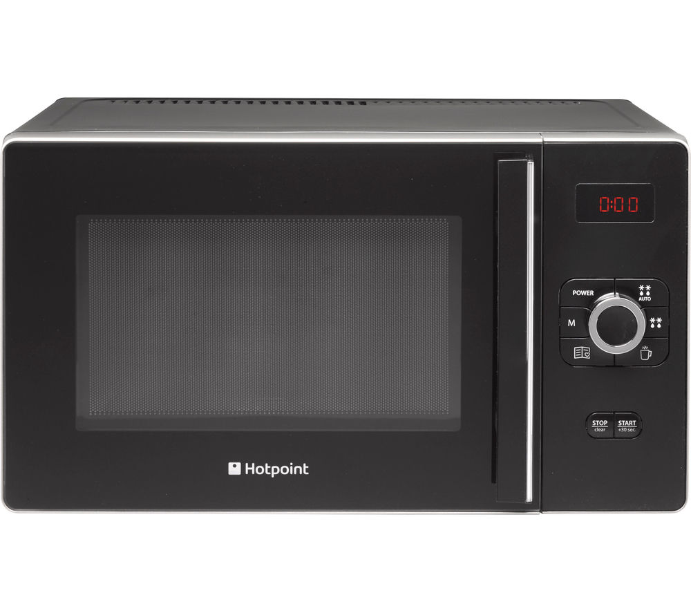 Hotpoint HOTPOINT  Ultimate MWH 2521 B Solo Microwave  Black Black