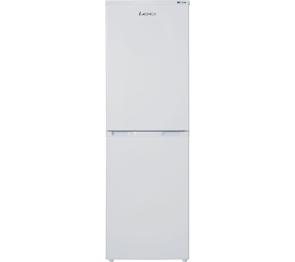 LEC  TS55172W Fridge Freezer  White White