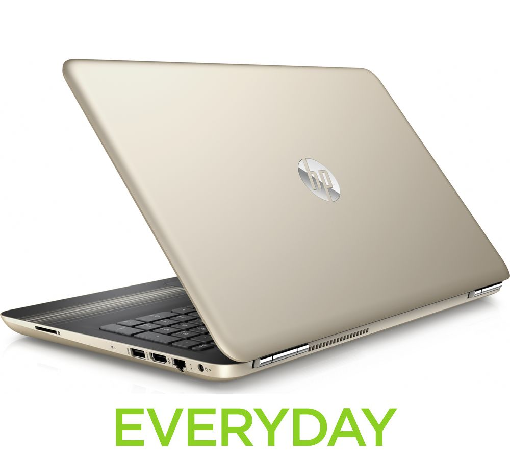 "HP Pavilion 15-aw084sa 15.6"" Laptop - Modern Gold + Office 365 Home"