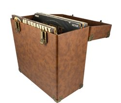 "GPO 12"" Vinyl Case - Brown"