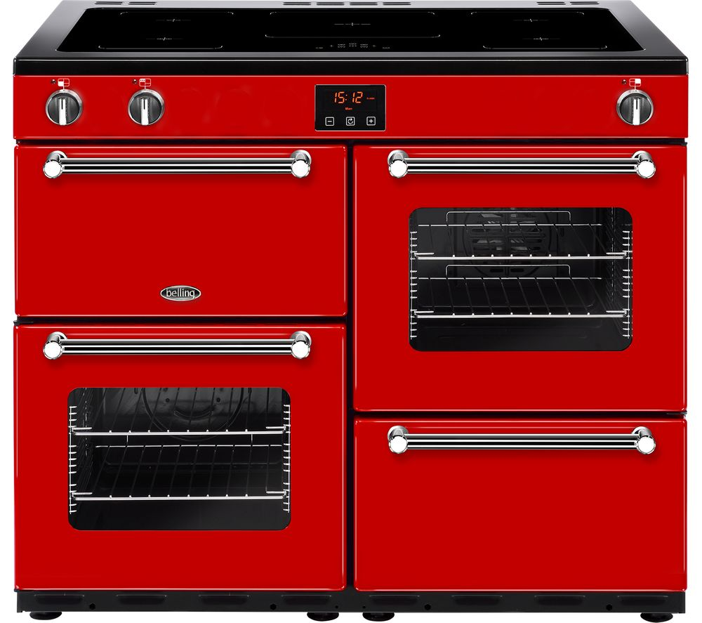belling kensington 100ei electric induction range cooker. Black Bedroom Furniture Sets. Home Design Ideas