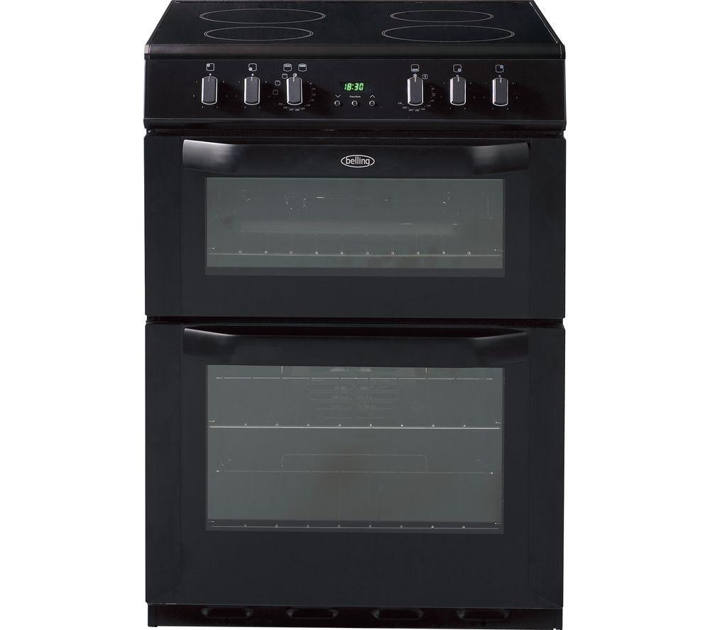 BELLING FSE60DOP 60 cm Electric Ceramic Cooker - Black
