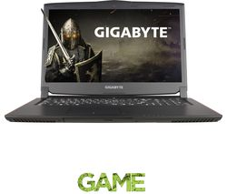 "GIGABYTE P57W V6-CF2 17.3"" Gaming Laptop - Black"