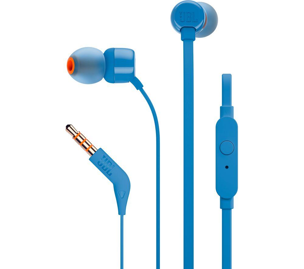 JBL T110 Headphones - Blue