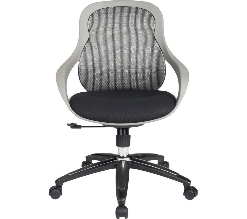ALPHASON Croft Mesh Tilting Operator Chair - Grey