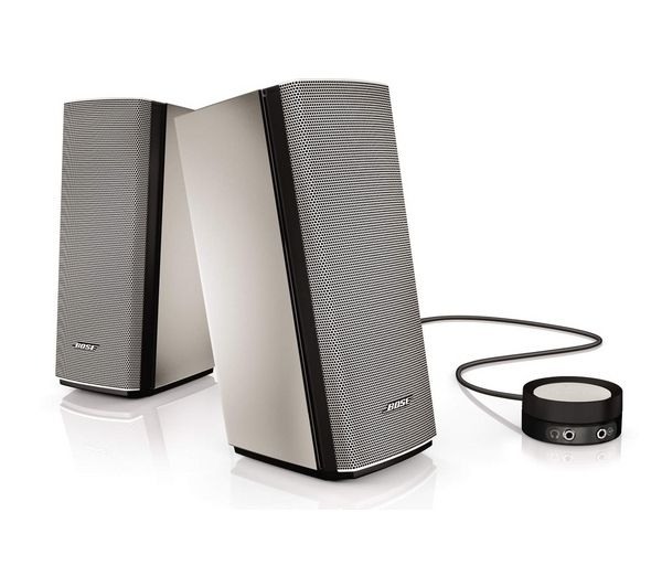 BOSE  Companion 20 2.0 PC Speakers - Silver, Silver