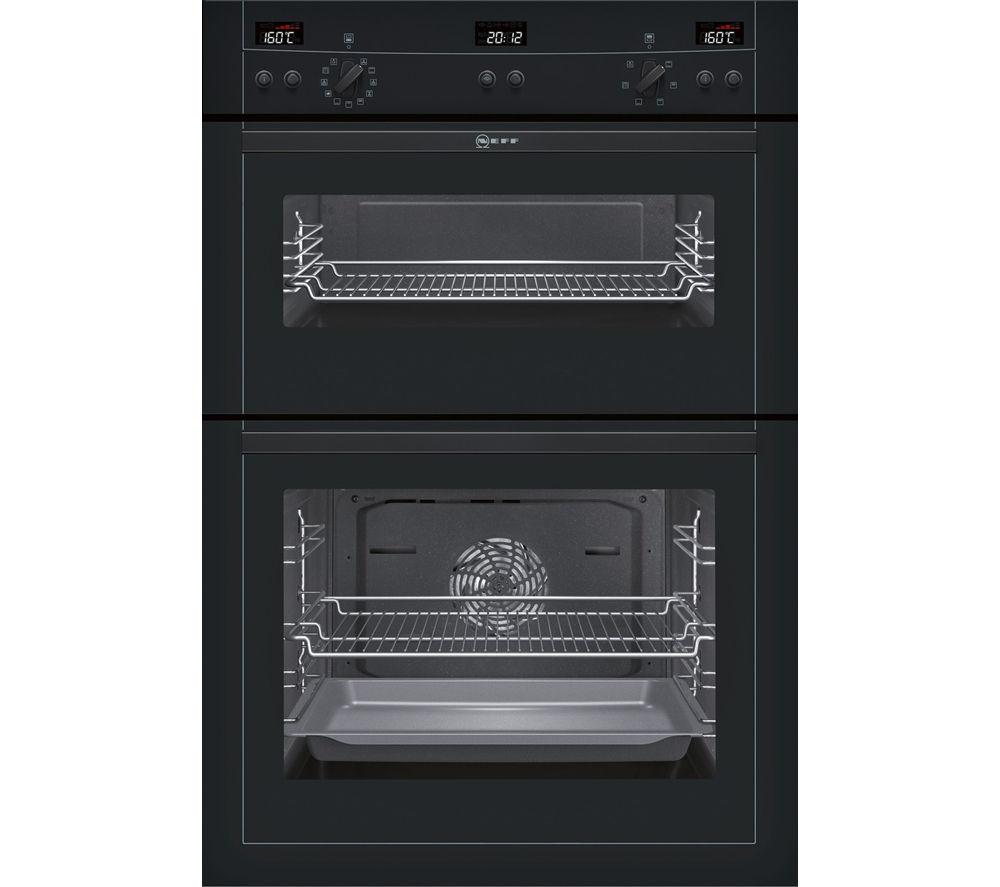 Buy Neff Series 3 U15e52s3gb Electric Double Oven Black
