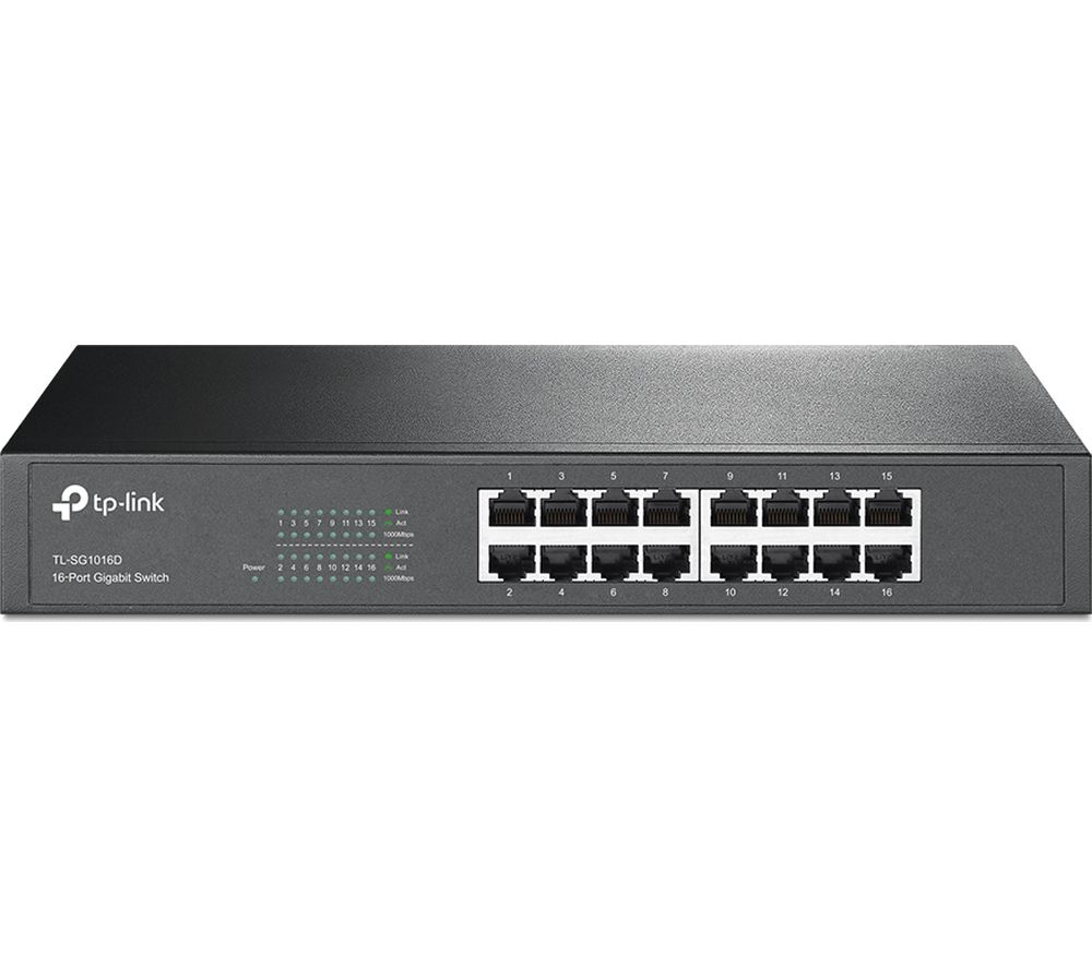 TP-LINK TL-SG1016D 16-port Ethernet Switch