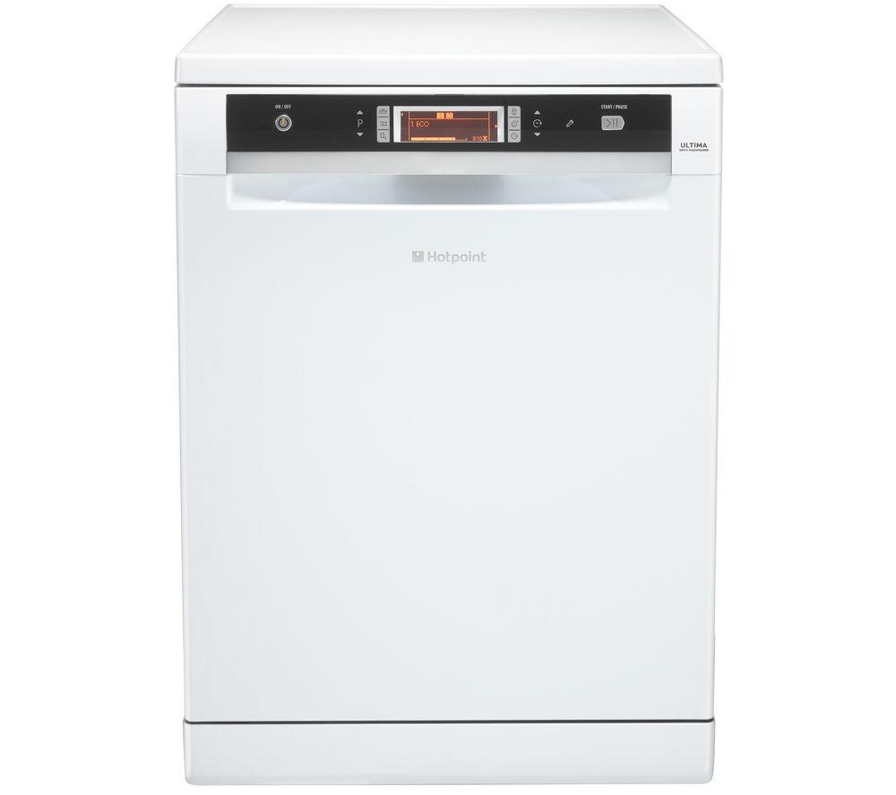 HOTPOINT Ultima FDUD 44110P Full-size Dishwasher - White