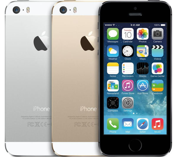 apple iphone 5s 16 gb silver deals pc world. Black Bedroom Furniture Sets. Home Design Ideas
