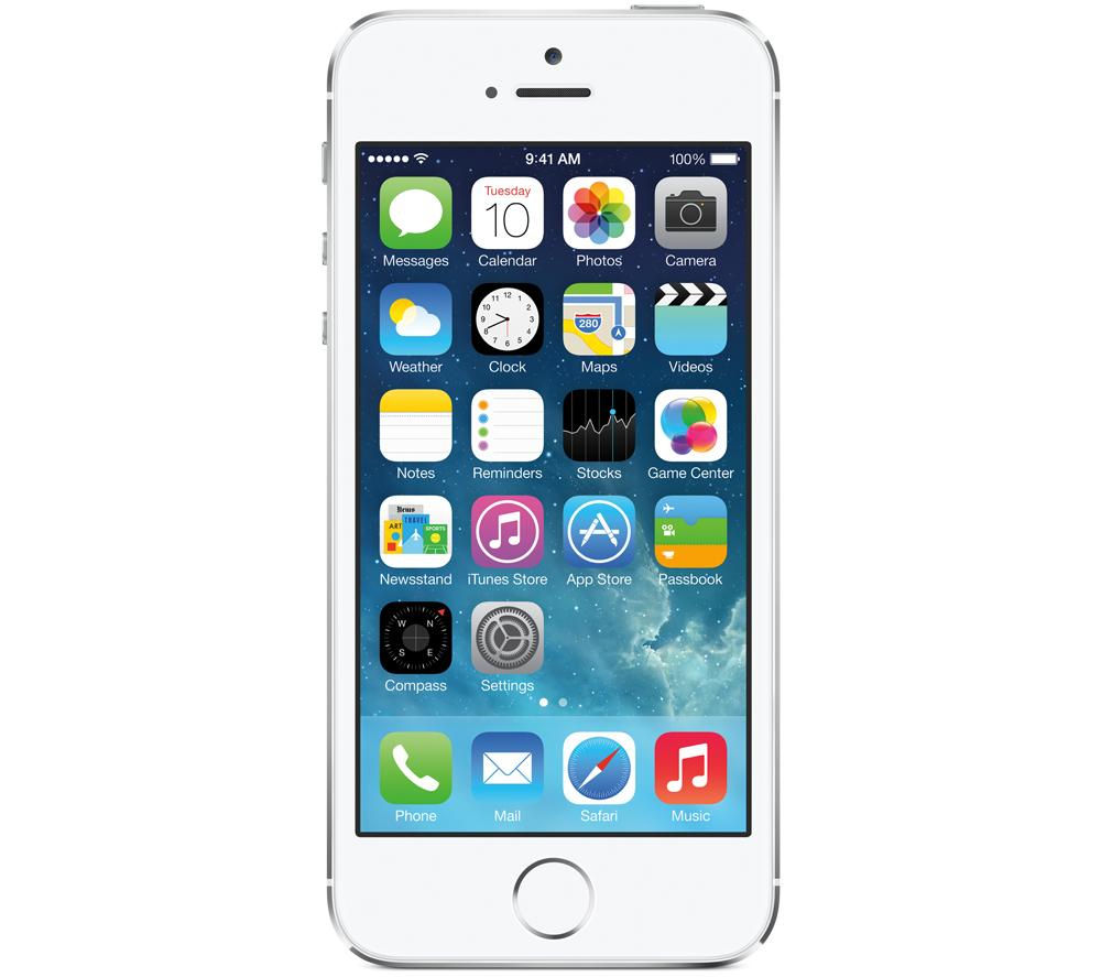 APPLE iPhone 5s - 16 GB, Silver