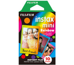 FUJIFILM Instax Mini Film - Rainbow